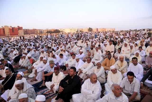 المصلى الجماعي في يوم عيد الأضحى