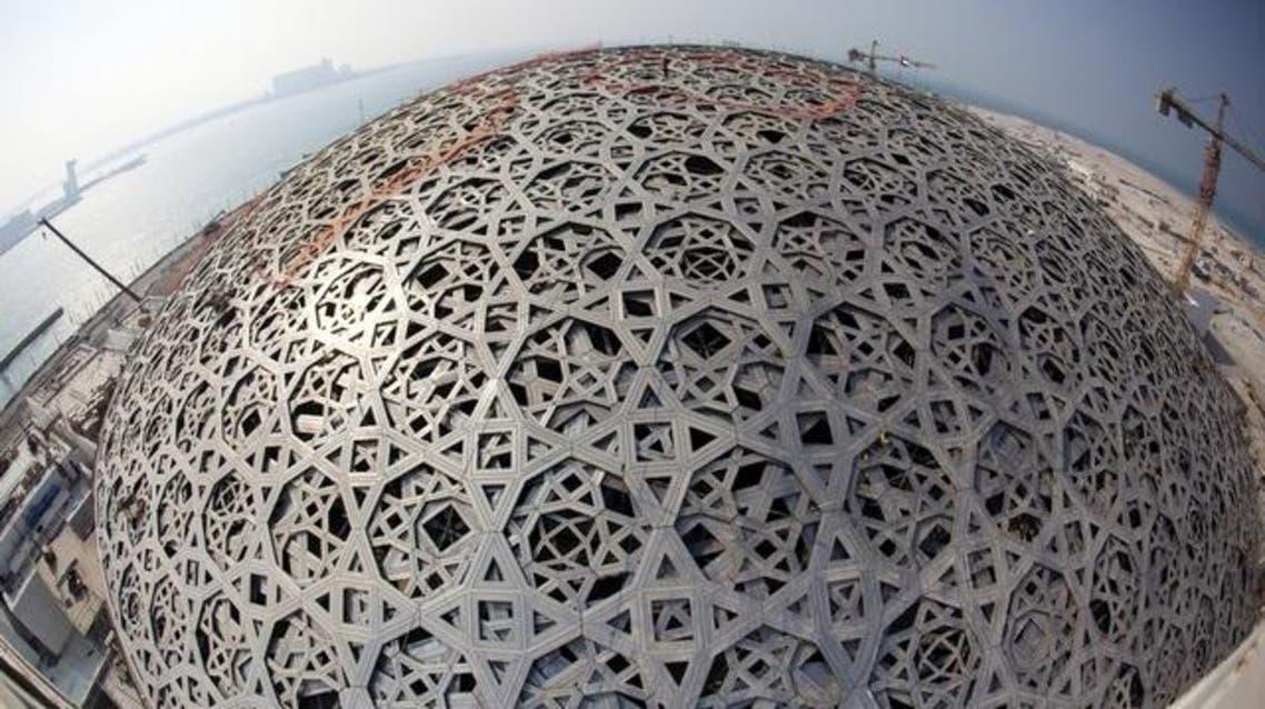 قبة متحف اللوفر في أبو ظبي