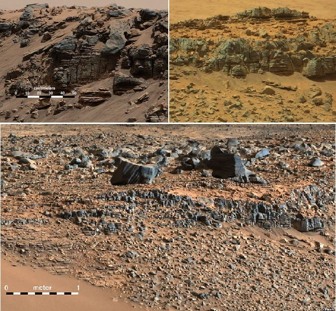 المريخ عالم قائم بذاته من الصخور والأحجار والرمال، لكن ناسا قد تعلن عن وجود الماء فيه أيضا