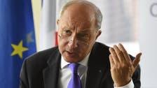 فابيوس يدعو إلى محادثات من دون أي شرط مسبق بشأن سوريا