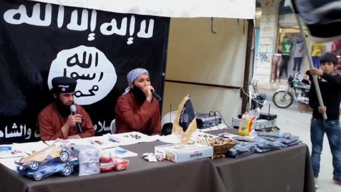 عناصر من داعش أطفال