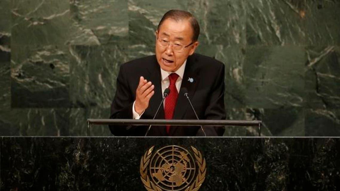بان كي مون الجمعية العامة للأمم المتحدة