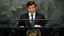 Turkey's Davutoglu sees no transition period for Syria's Assad