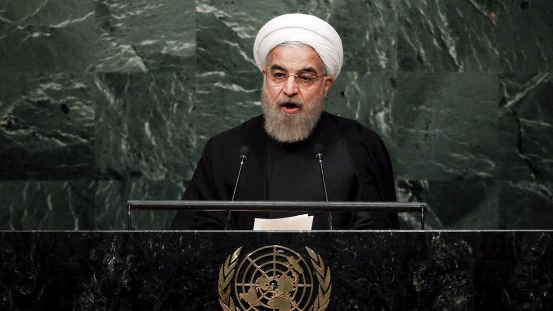 Iran's President Hassan Rouhani addresses a plenary meeting of the United Nations Sustainable Development Summit 2015 at the United Nations headquarters in Manhattan, New York. (Reuters)