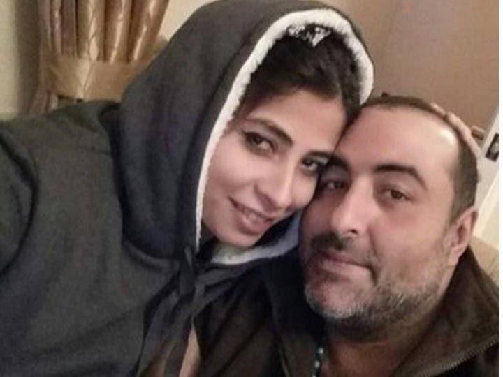 سامح عبد العزيز وزوجته روبي