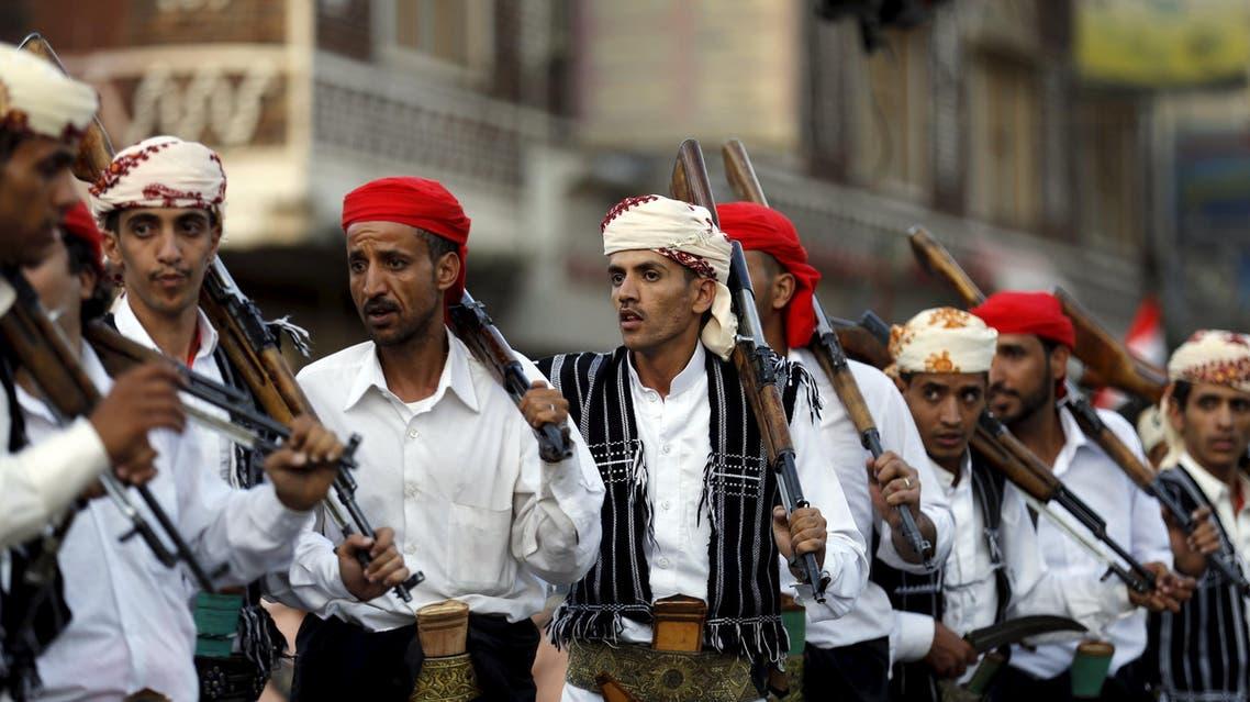 عناصر من ميليشيا الحوثي في صنعاء (أرشيفية)