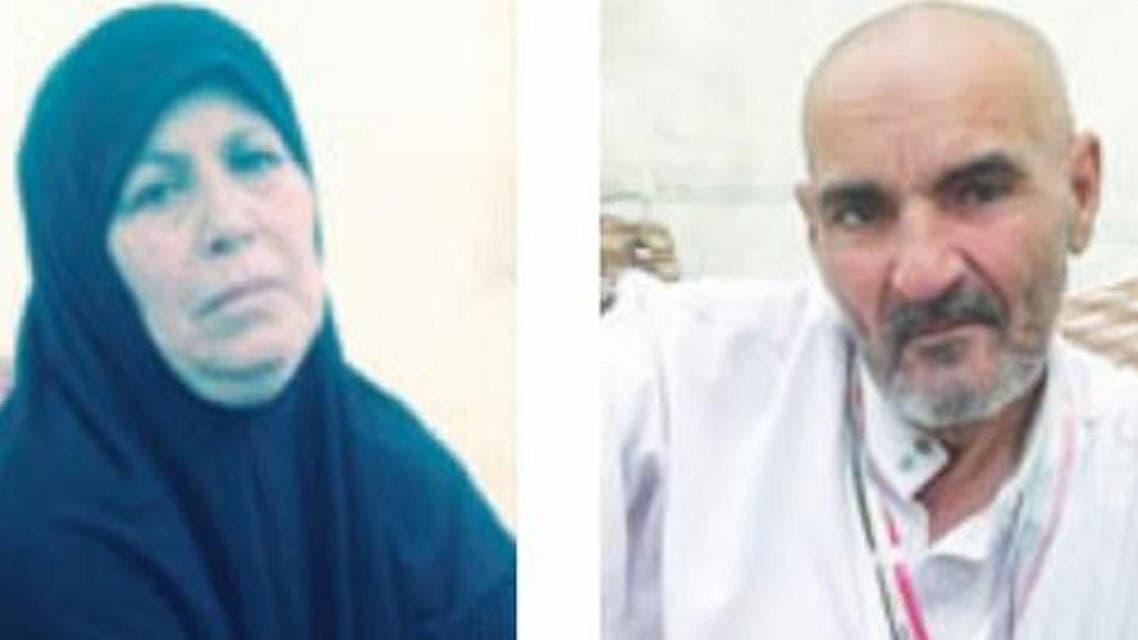 Fatima Sabie, a 56-year-old Algerian pilgrim (L) and Atif Abdul Qadir, a 75-year-old Egyptian pilgrim. (Saudi Gazette)