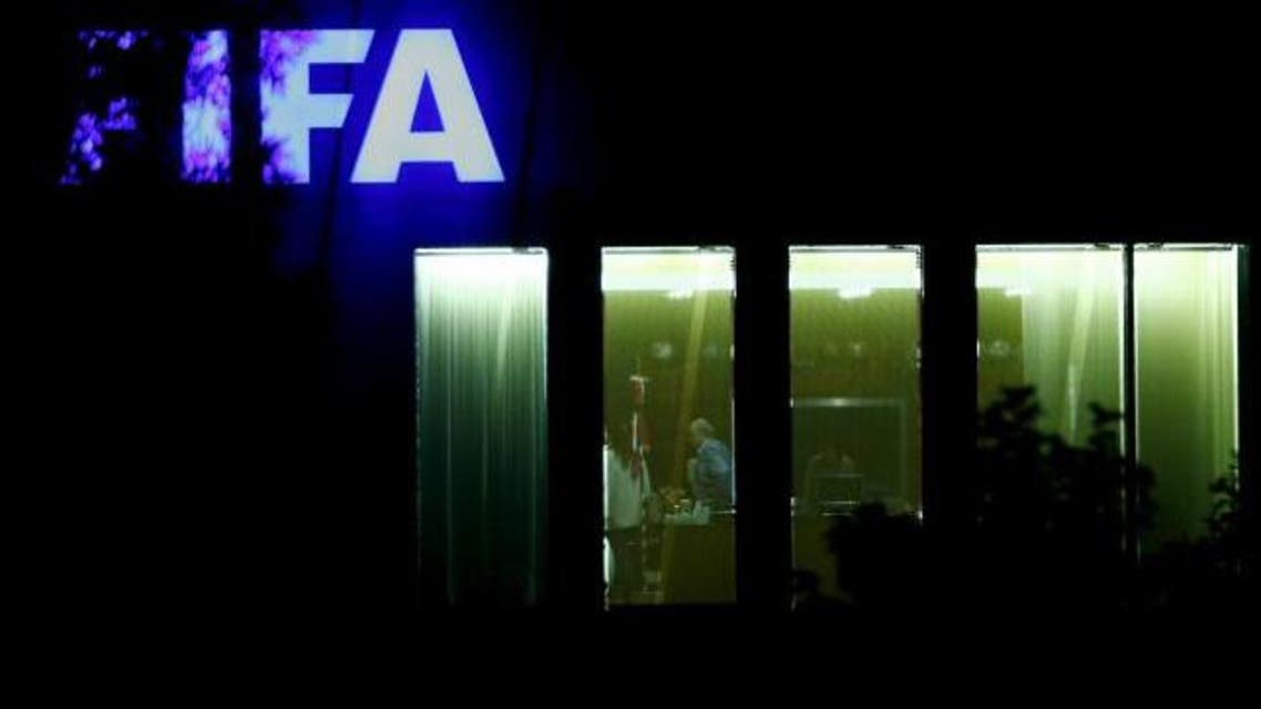 FIFA President Sepp Blatter stands in an office at the FIFA headquarters after a meeting of the FIFA executive committee in Zurich, Switzerland September 25, 2015. Reuters/Arnd Wiegmann
