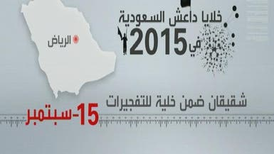 شاهد خلايا داعش لـ 2015 في #السعودية