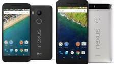 Google unveils latest Nexus phones, tablet