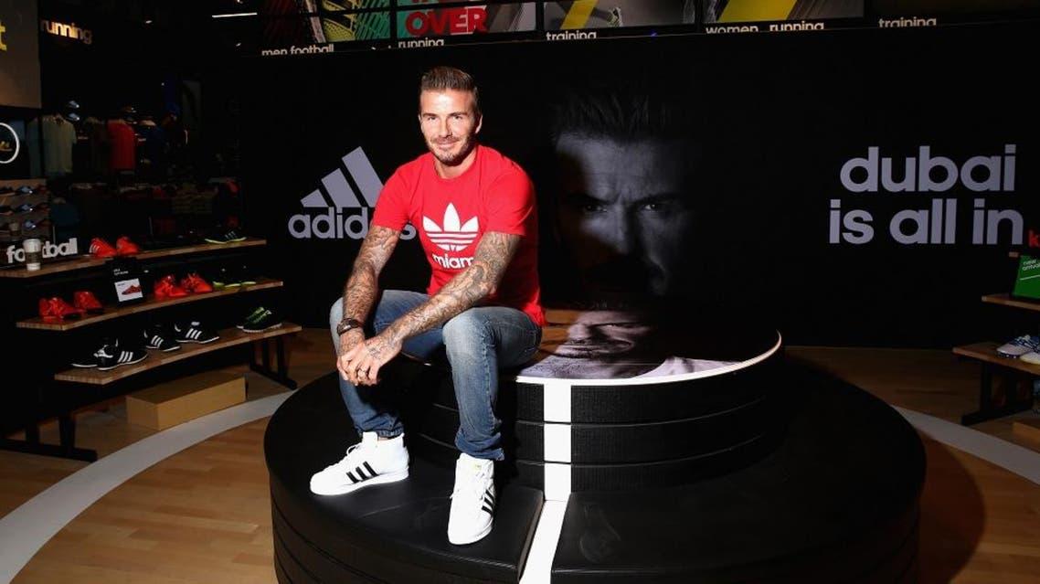 David Beckham (Courtesy of Addidas)