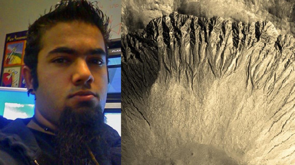 لوجندرا، تفحص الخطوط المتعرجة على المريخ واكتشف أول ماء خارج الأرض