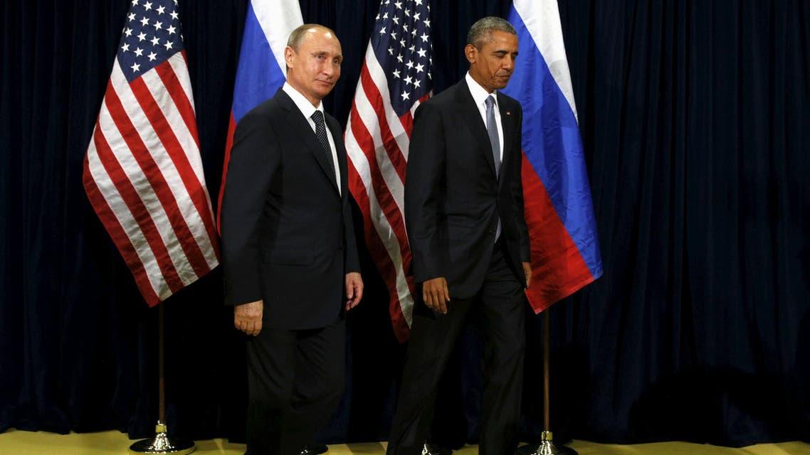 أوباما و بوتين
