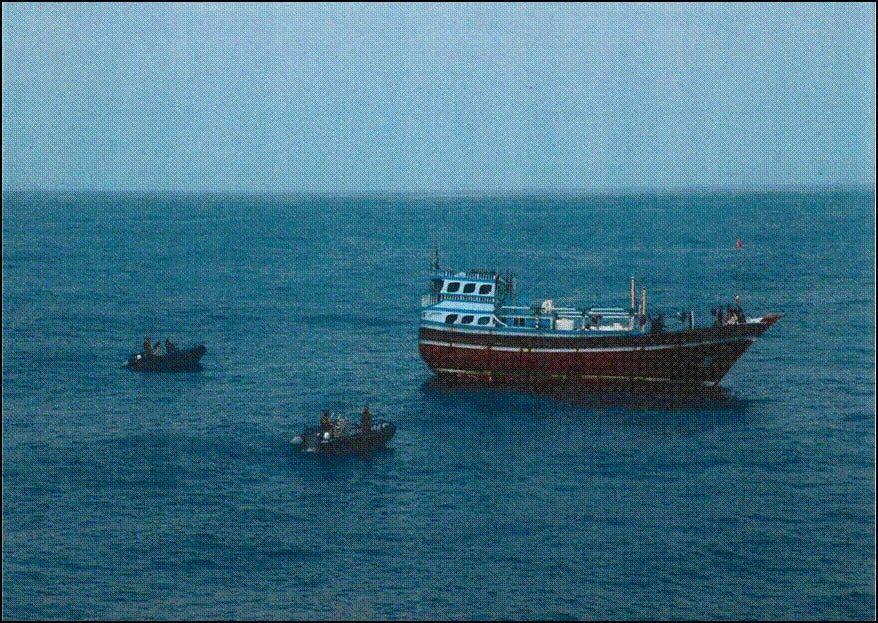 The boat was seized on the third day of the Muslim holiday of Eid al-Adha. (Al Arabiya)