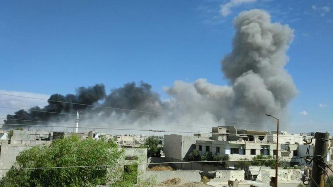 قصف في سوريا