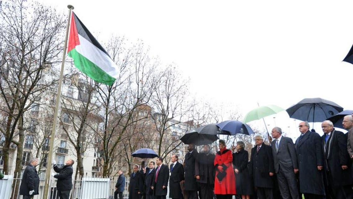 رفع العلم الفلسطيني على مباني الأمم المتحدة