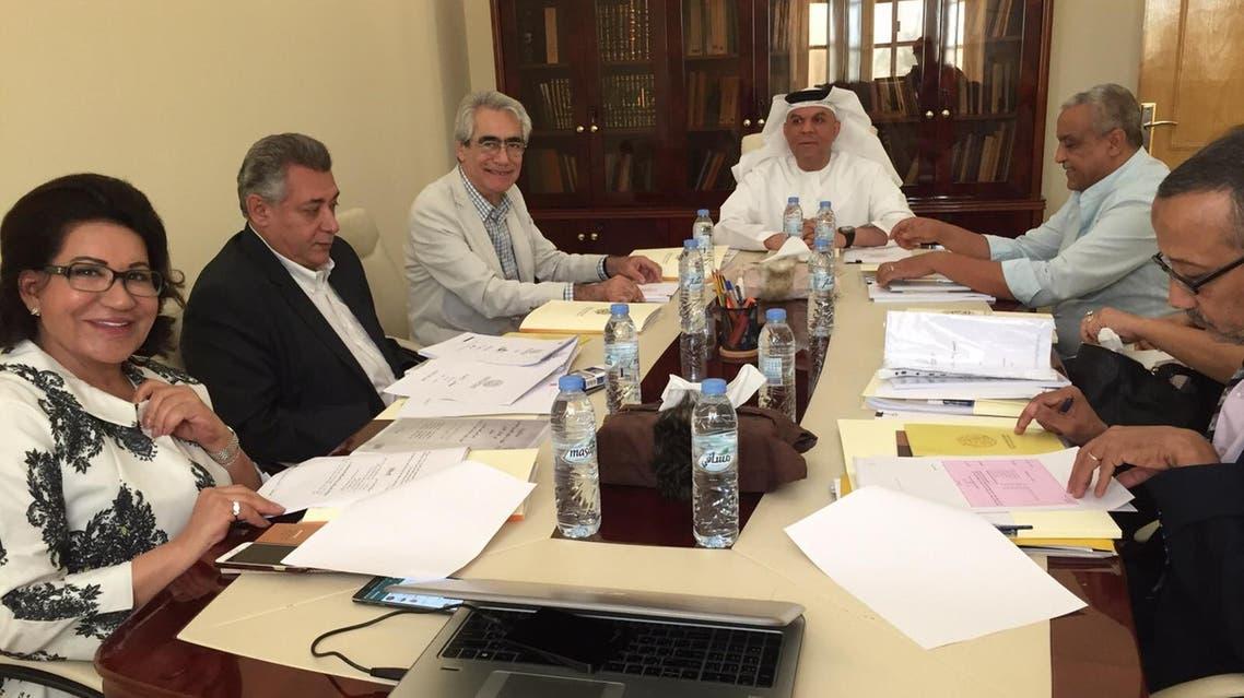 جانب من اجتماعات الهيئة العربية للمسرح