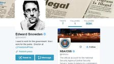 Snowden just joined Twitter: Guess which one account he followed?
