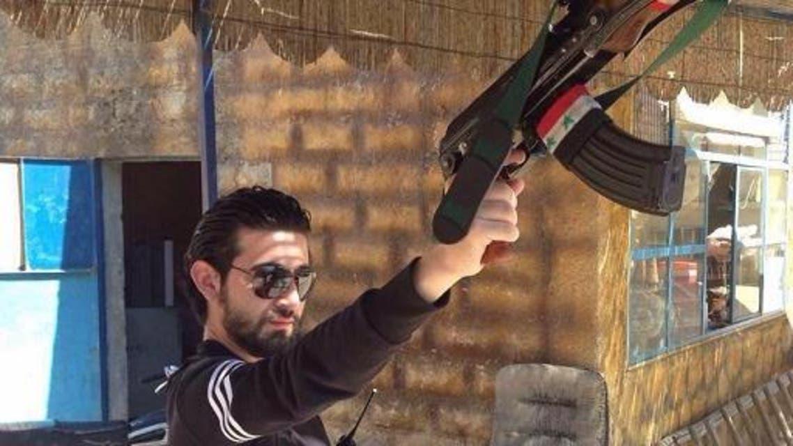 حيدر الأسد واسمه المشهر هو محمد هلال لحماية حسابه من السرقة كما قال