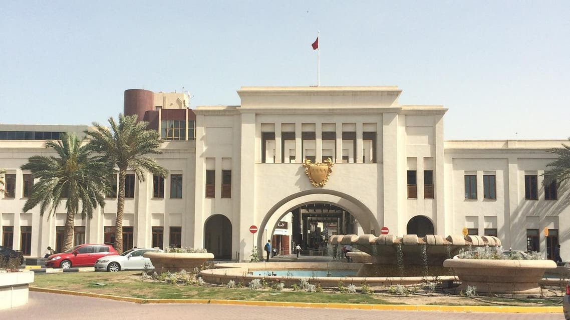 The Bab-al-Bahrain, the main sea port to enter Bahrain decades ago, stands today in Manama. (Ismaeel Naar/Al Arabiya)