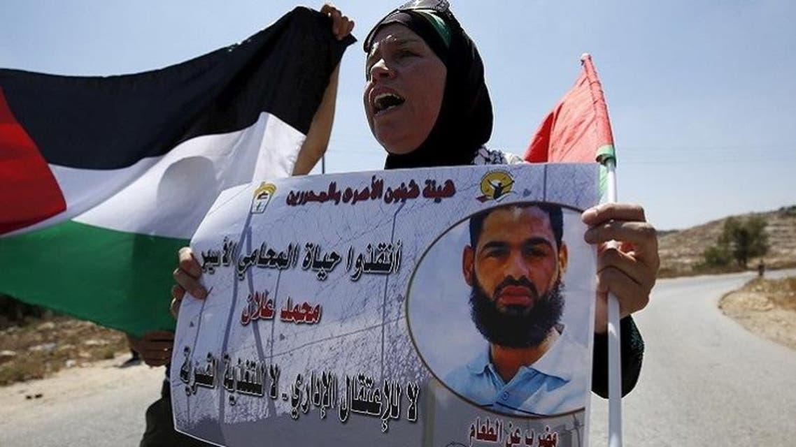 الأسير الفلسطيني محمد علان