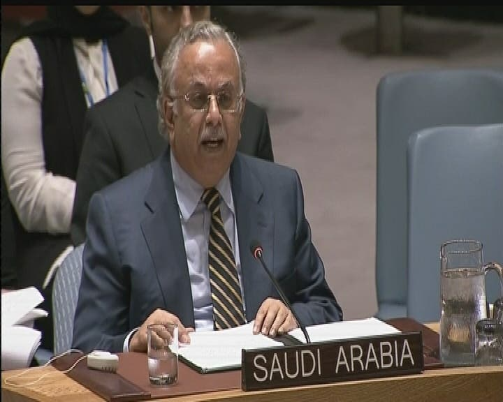 Saudi's ambassador to the U.N.'s comments came after Russian strikes reportedly killed 36 civilians. (Al Arabiya)