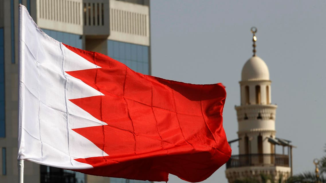 bahrain flag REUTERS