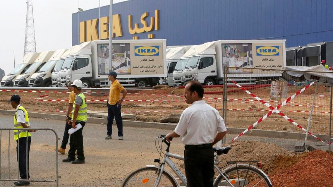 Outside view of the construction site of the country's first Ikea store outside Casablanca, Morocco, Tuesday, Sept. 29, 2015. ap