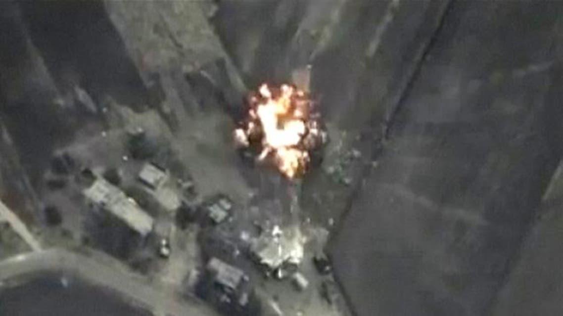 غارات روسية سوريا