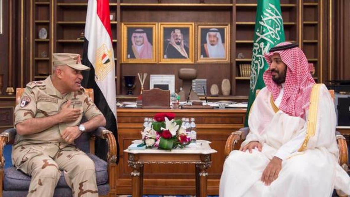وزیران دفاع سعودی و مصر