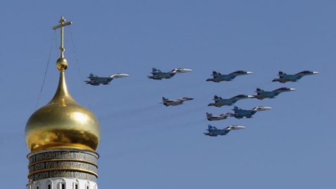 مقاتلات روسية فوق الكريملن 3