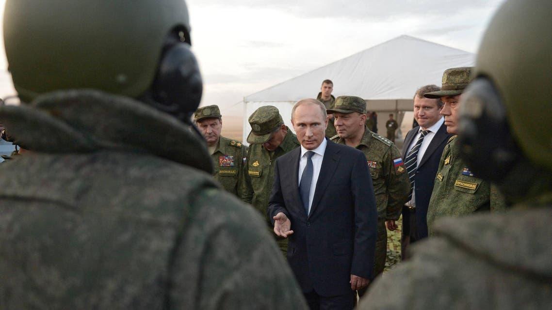 فلاديمير بوتين يتفقد قواته - روسيا 3