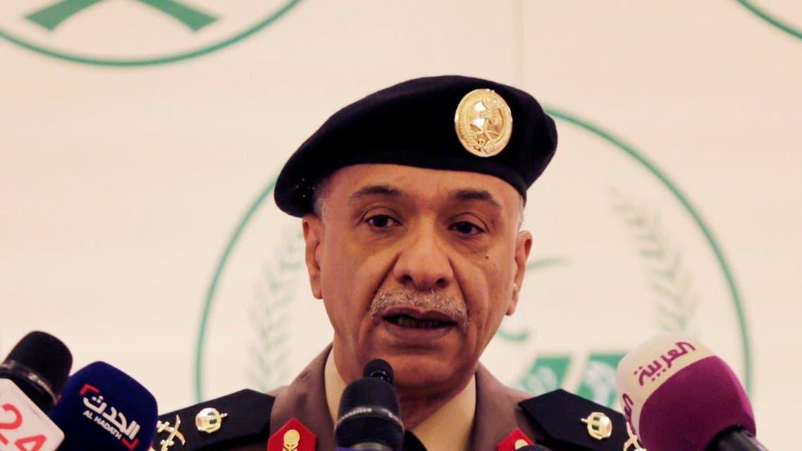 Saudi Interior Ministry spokesman Maj. Gen. Mansour al-Turki speaks during a press conference in Riyadh, Saudi Arabia, Friday, April 24, 2015. (AP)