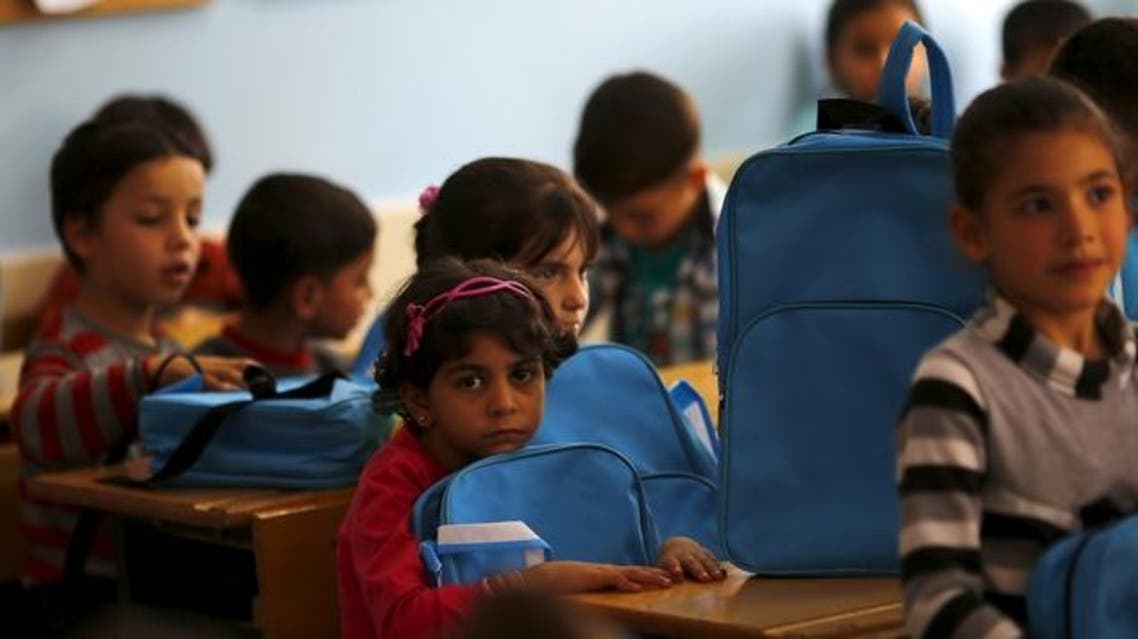 أطفال لاجئون سوريون تركيا
