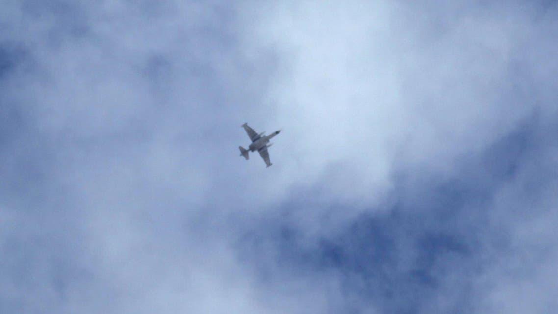طائرة روسية في سماء إدلب - سوريا