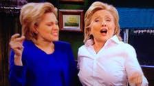 Hillary Clinton plays a bartender and sings on 'Saturday Night Live'