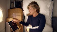 Jennifer Aniston stars, amuses, in first Emirates Airline advert