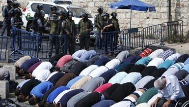 اسرائيل تمنع دخول المسجد الاقصى الجمعة لمن هم دون الـ50