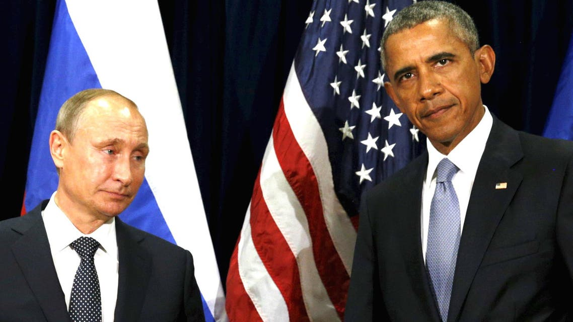 U.S. President Barack Obama and Russian President Vladimir Putin meet at the United Nations General Assembly in New York. (Reuters)