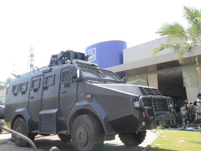 مقتحم البنك في #جازان مؤيد لتنظيم داعش
