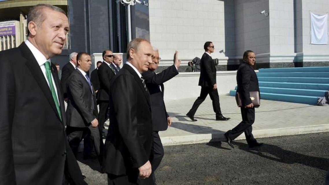 Turk President and Putin
