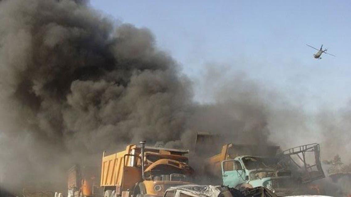 قصف لمواقع داعش في العراق