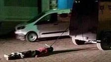 Kurdish militant's photos 'dragged by Turkish police' spark furor