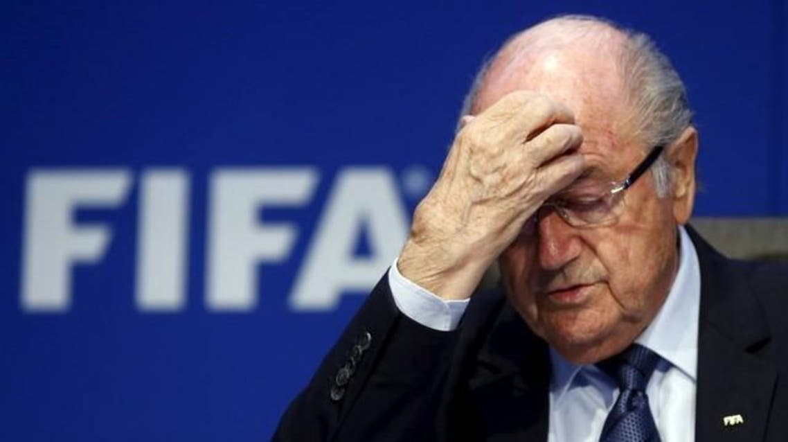 Re-elected FIFA President Sepp Blatter gestures during news conference after an extraordinary Executive Committee meeting in Zurich. (File photo: Reuters)