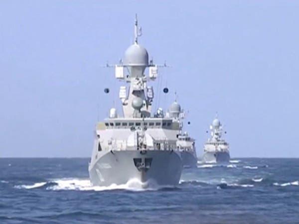 روسيا ترسل تعزيزات عسكرية بحرية جديدة إلى مياه المتوسط