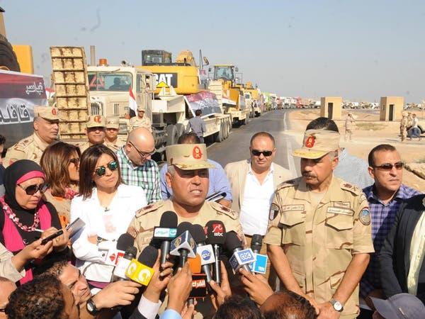 """الجيش المصري يبدأ المرحلة الثانية لعملية """"حق الشهيد"""""""