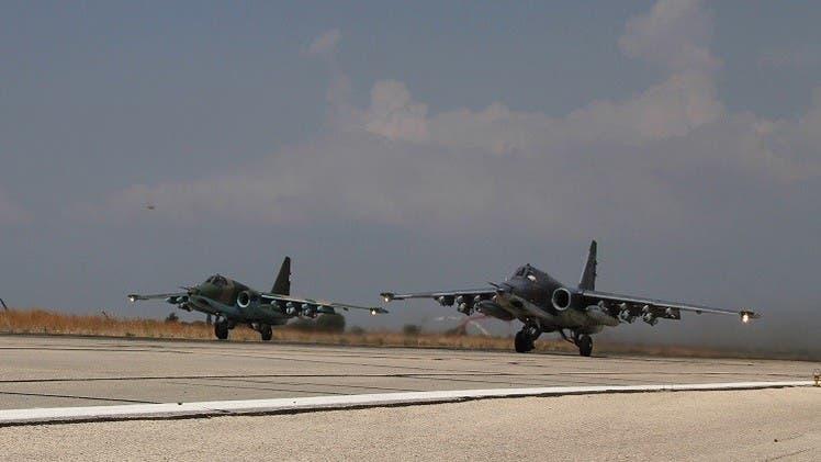 طائرات حربية روسية في مطار حميميم