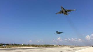 الدفاع الروسية: دمرنا 16 طائرة مسيرة باتجاه حميميم