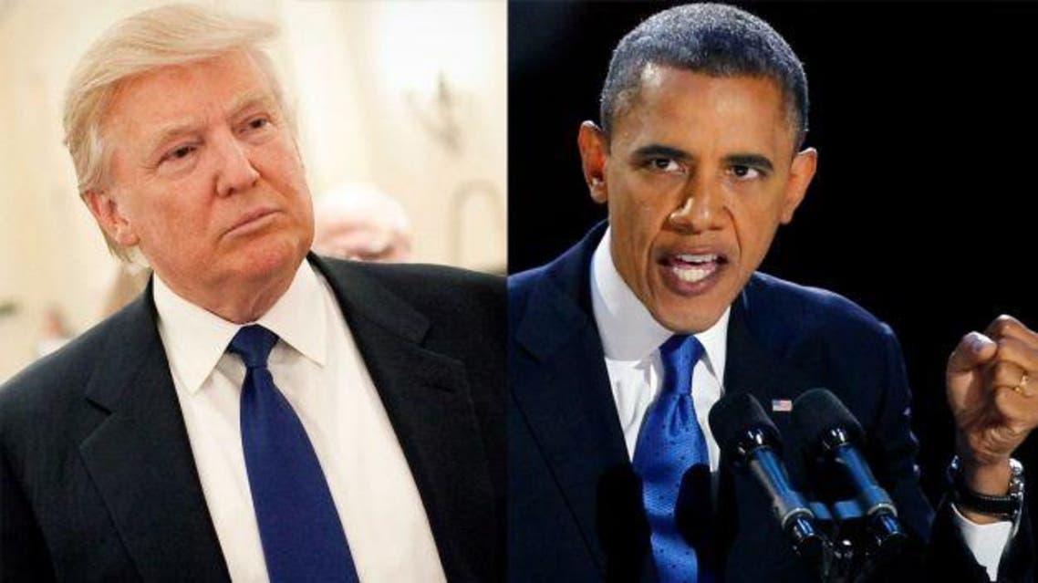 أوباما و ترامب