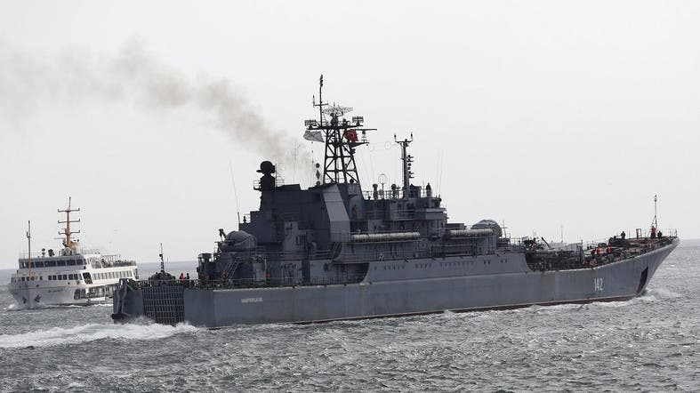 Russian warships drive away Dutch submarine in Mediterranean Sea